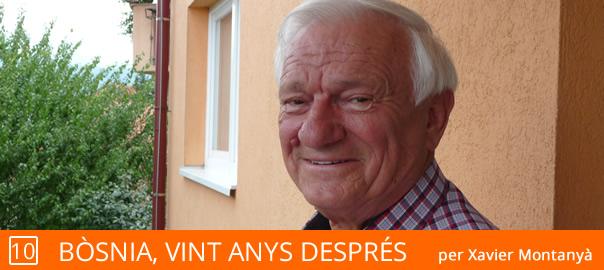 Jovan Divjak a la seu de la seva Fundació