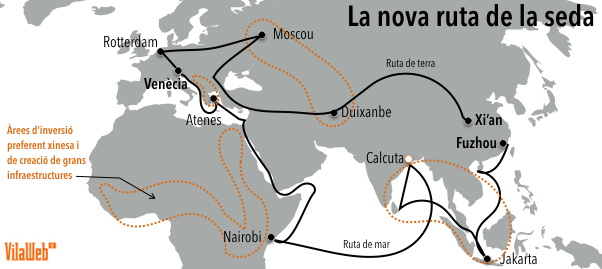 La 'nova ruta de la seda': el pla Marshall xinès que canviarà el món en deu anys
