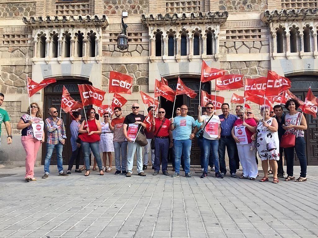 CCOO exige al Gobierno incrementos salariales para empleadas y empleados públicos