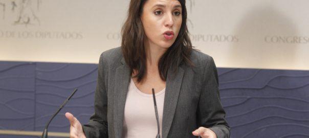 Irene Montero Coronavirus