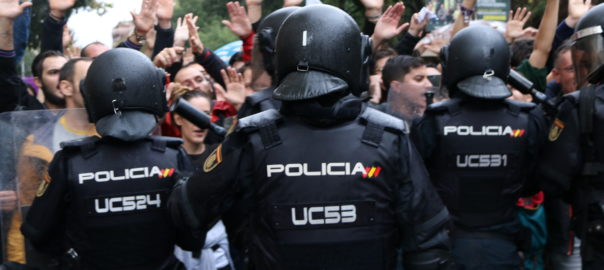 policia espanyola