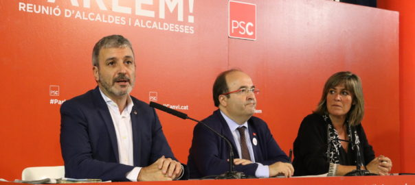 PSC independentisme àrea metropolitana Barcelona