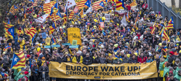 Manifestació Estrasburg 2 juliol