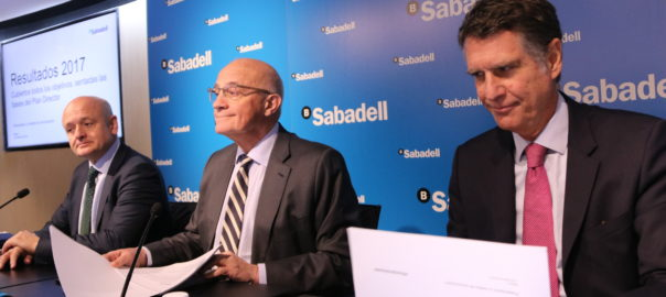 Jaume Guardiola - Banc Sabadell - Josep Oliu