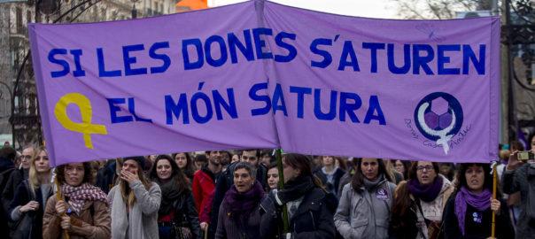 vaga feminista 8 març 2019