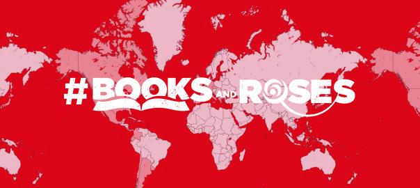 Books ans roses
