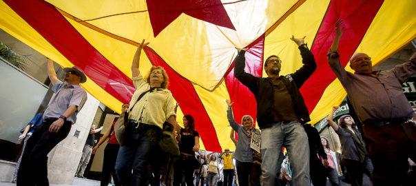 Manifestació esquerra independentista