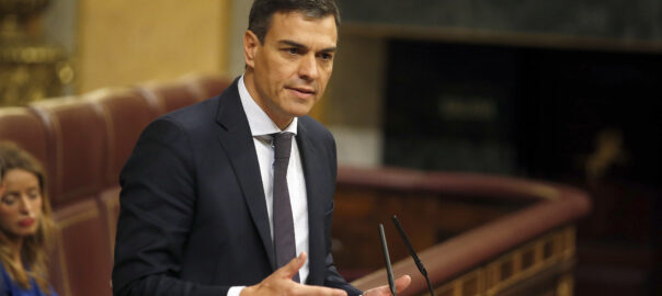 Pedro Sánchez investidura