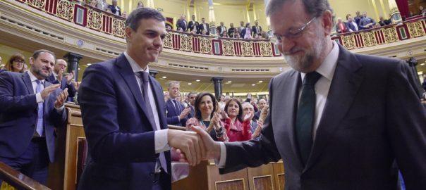 Pedro Sanchez Mariano Rajoy