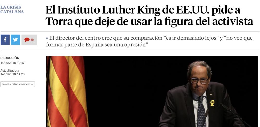 vilaweb.cat - The shame of Spanish journalism