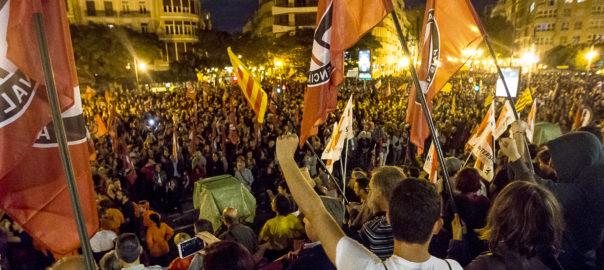 Manifestacio valencia 8 de novembre