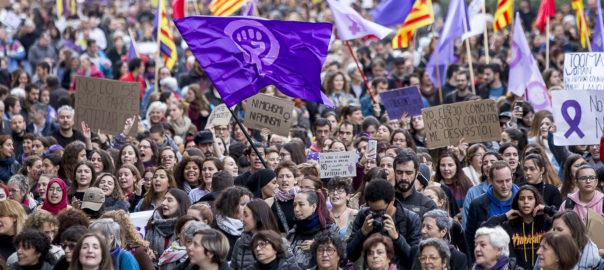 manifestacions 8 de març Barcelona Valencia