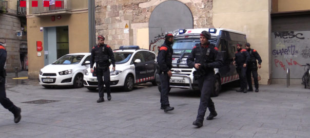 mossos brimo ciutat vella