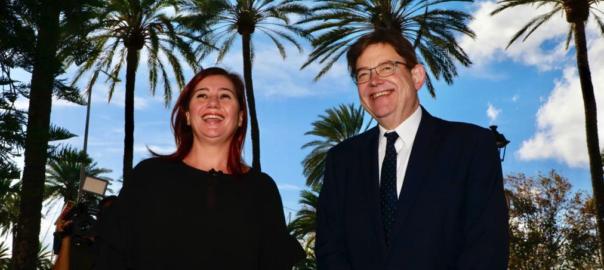Ximo Puig i Francina Armengol