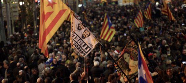 transit manifestacio 16 febrer barcelona