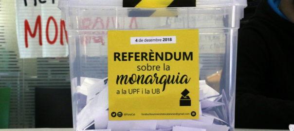 referèndum sobre la monarquia