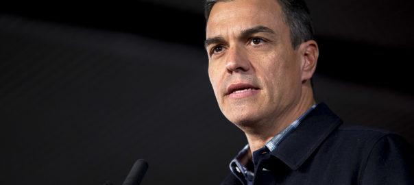 Pedro Sánchez, president Govern Espanyol