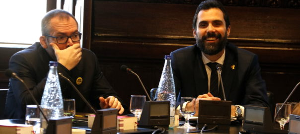 Josep Costa i Roger Torrent