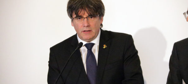 puigdemont candidat europees