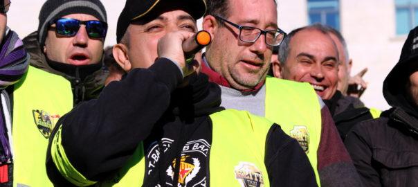 Portaveu comitè de vaga taxistes