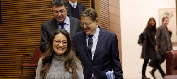 Monica Oltra Ximo Puig Enric Morera