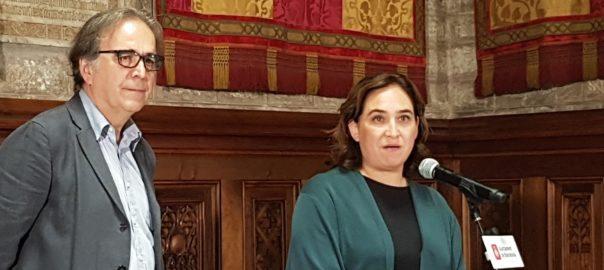 Joan Subirats Ada colau