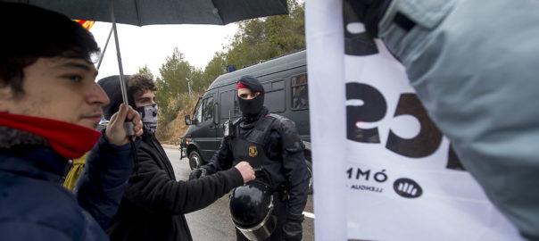 Trasllat presos polítics Lledoners - Brians