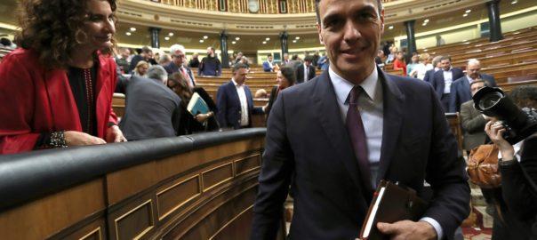Pedro Sánchez María Jesús Montero