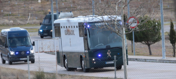 suspes guardia civil video presos