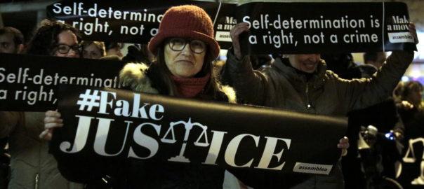 manifestació judici