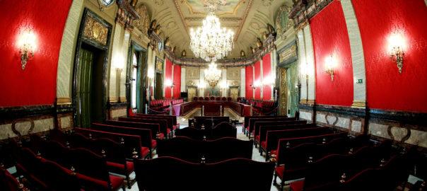 sala de plens del tribunal suprem espanyol on es farà el judici contra el procés