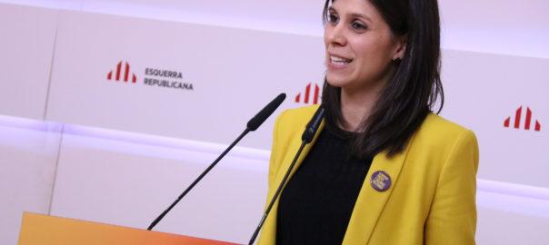 Marta Vilalta portaveu d'ERC