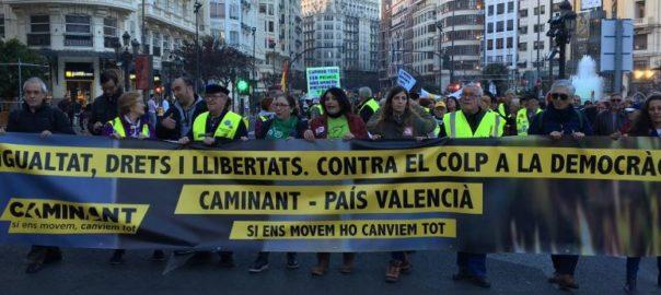 manifestacions valencia castello alacant extrema dreta drets socials