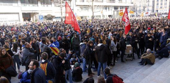 Manifestació Girona
