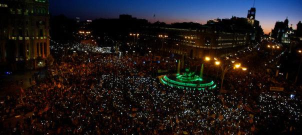 Manifestació independentista Madrid