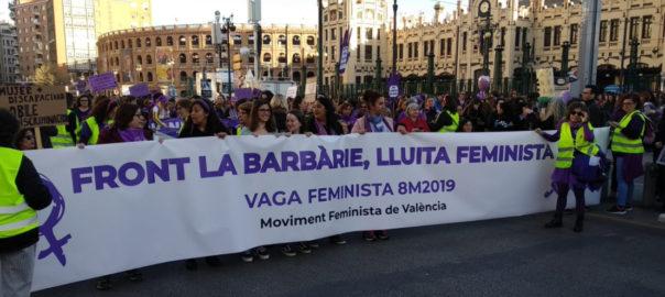 Manifestació València 8 de març