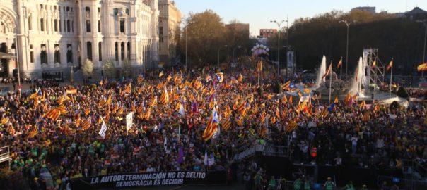 manifestació madrid