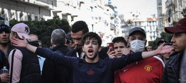 Algeria protestes
