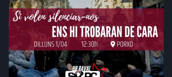concentracio retirada llaços grocs universitat barcelona