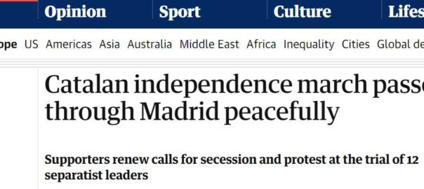 premsa internacional manifestacio madrid