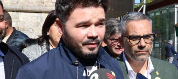 rufian psc eleccions espanyoles