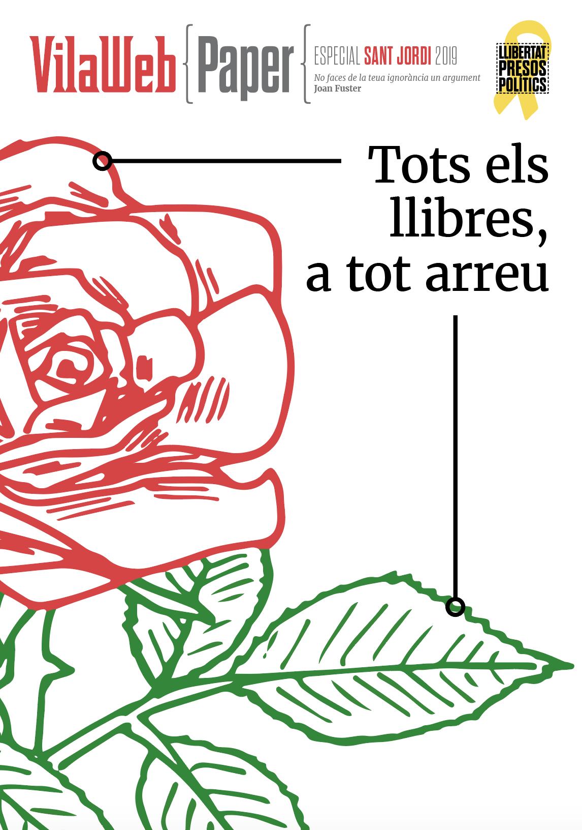 Sant Jordi VilaWeb Paper