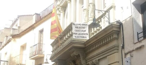 capellades mossos pancarta