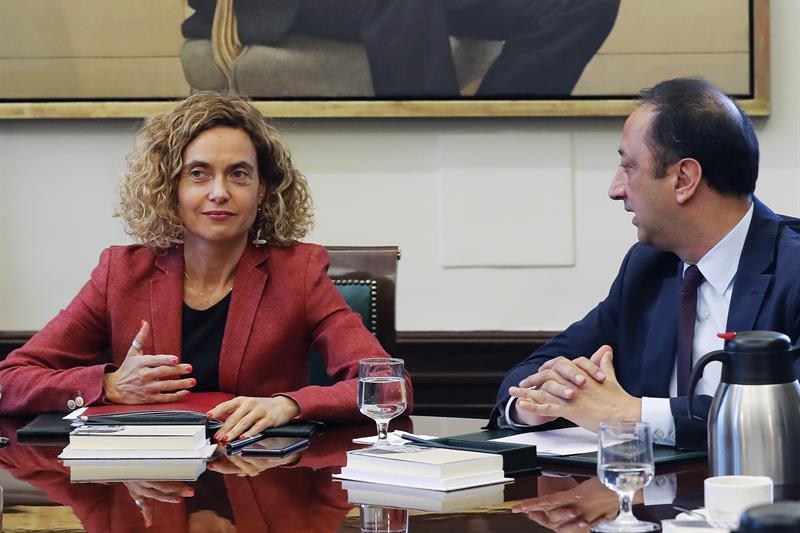 Spanish parliament bureau suspends elected Catalan political prisoners - VilaWeb