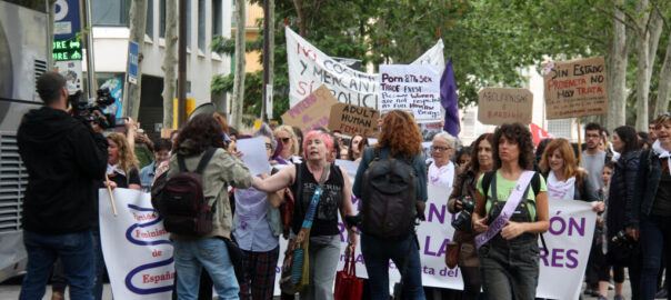marxa abolicio prostitucio barcelona