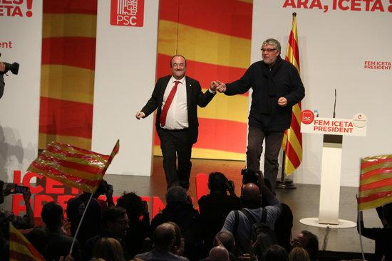 Antonio Balmón i Miquel Iceta