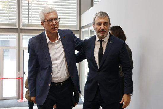Josep Fèlix Ballesteros i Jaume Collboni