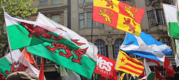 Gal·les manifestació independència