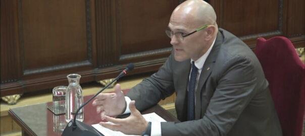 Romeva discurs judici proces