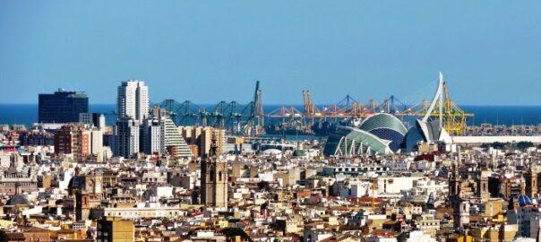 València skyline